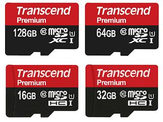 transcend adalah salah satu merek micro sd terbaik