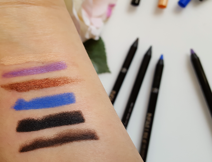 Swatches: L´Oréal Paris - Infaillibe Gel Crayon 24H Waterproof - 6.99 Euro