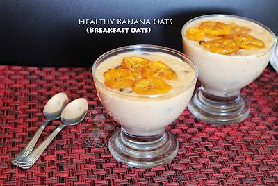 healthy oats recipe banana oats breakfast oats night oats diet oats recipe weightloss oats sugar free recipes dates and dry fruits oats