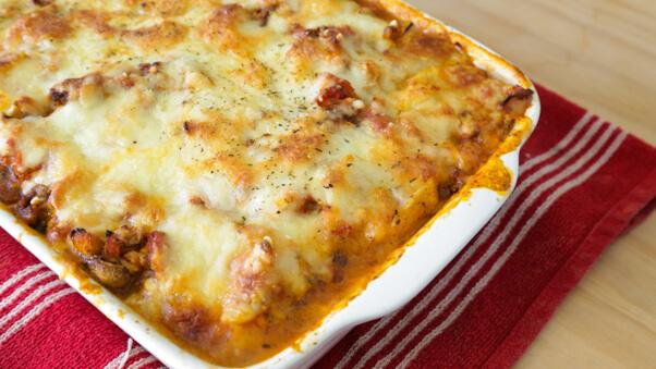 Gluten Free & Healthier Potato Lasagne