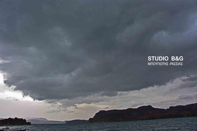 Μας παιδεύει ο καιρός: Βροχές και καταιγίδες μικρής διάρκειας