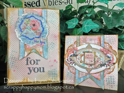 Butterfly Kisses Card and Gift Bag by Lynn Shokoples for BoBunny