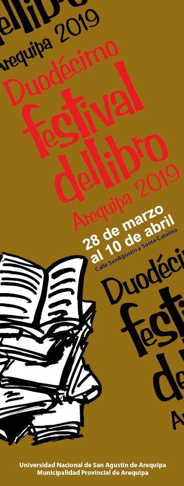 Festival del Libro Arequipa 2019 - FIL - 28 de marzo al 10 de abril