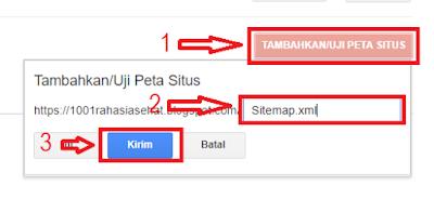 Cara Mengirim Peta Situs ke Google Webmaster