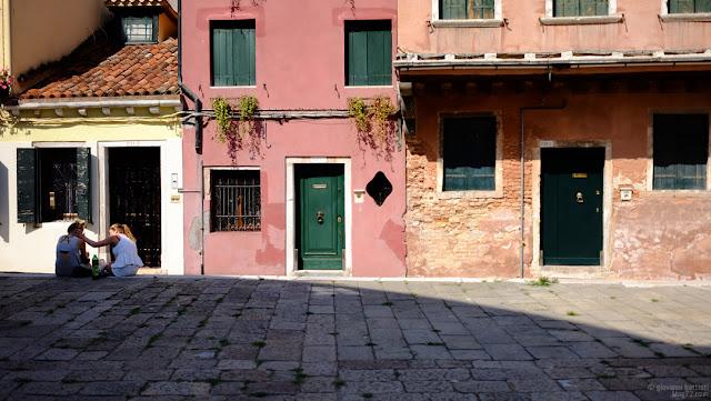 Due turiste a Venezia