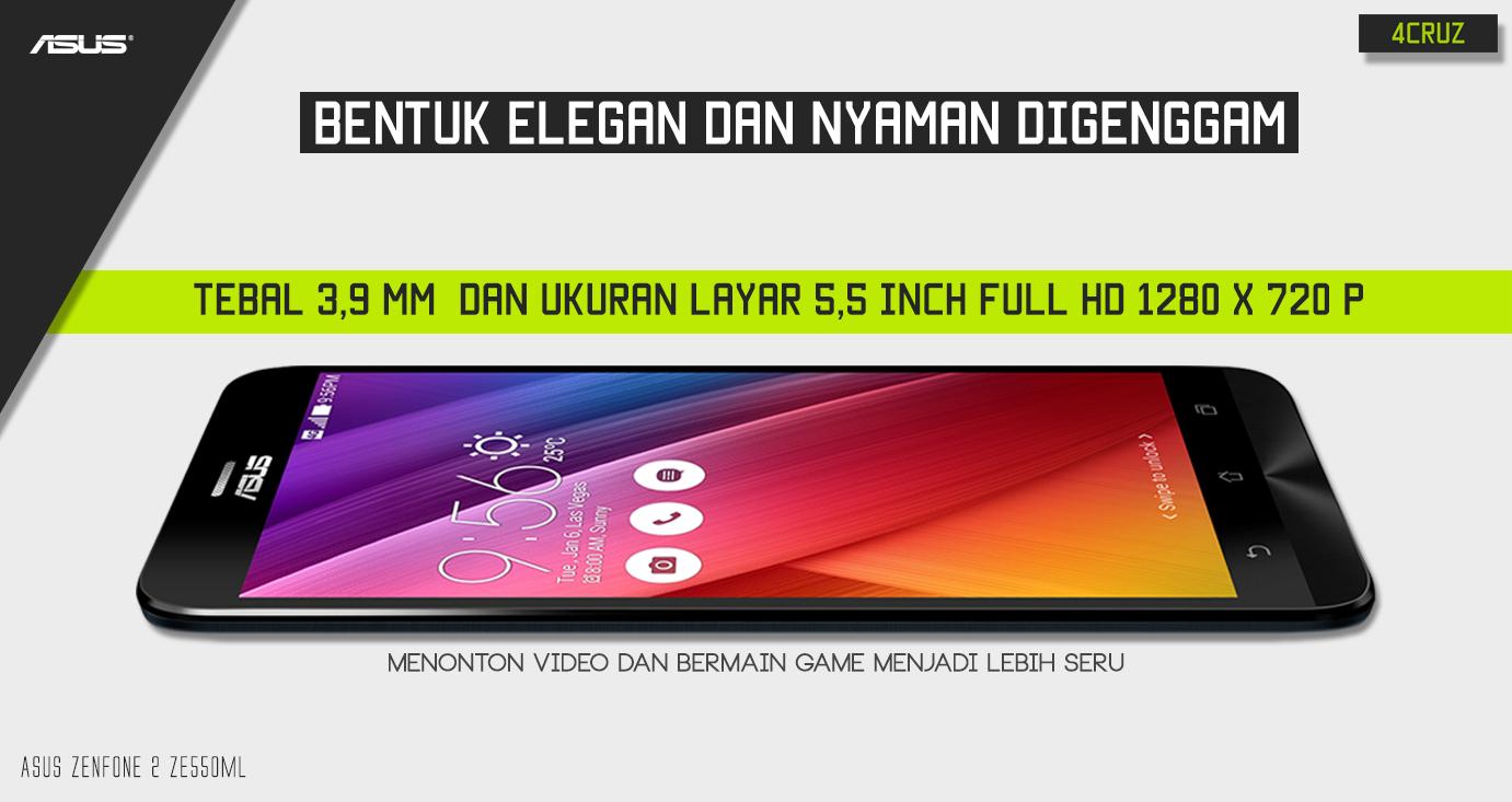 Asus Zenfone 2 Ze550ml Smartphone Berteknologi Tinggi 4cruz 4g Dan Memiliki Banyak Sekali Keunggulan Yang Tidak Dimiliki Lain