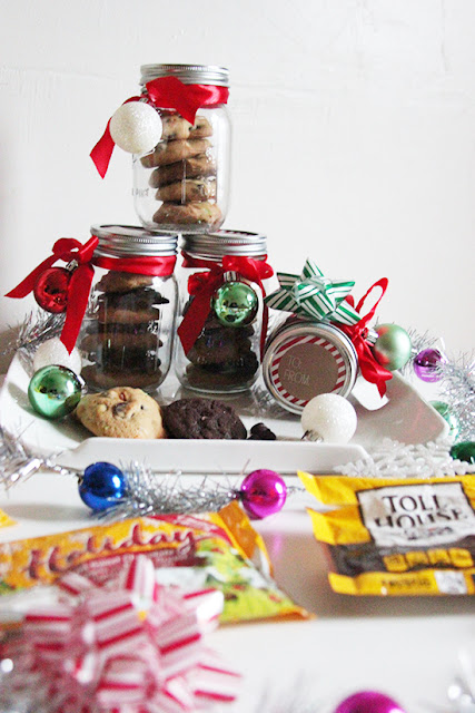 Nestle Toll House Holiday Cookie Jar Gift DIY