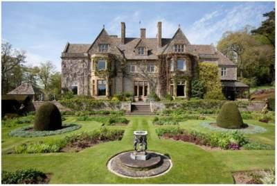 foto abbotswood estate, rumah mewah david beckham - dapur