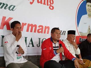 Karman: Kita Punya 2000 Alasan Untuk Mencintai Jokowi