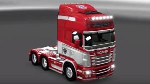 FC Bayern Munich Scania RJL skin
