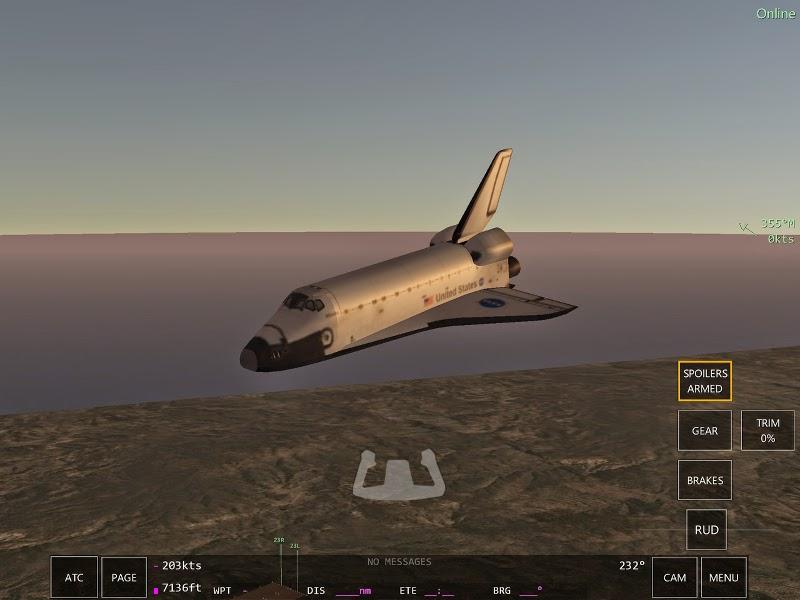 Navette spatiale Infinite Flight