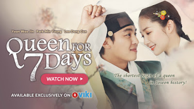 Queen For Seven Days, Drama Korea, Korean Drama, Korean Artist, Korean Style, Pelakon, Sinopsis, Drama Korea Queen For Seven Days, Channel KBS World, Joseon, Raja Kejam, Perebutan Takhta, Cinta, Pelakon Drama Queen For Seven Days, Park Min Young, Yeon Woo Jin, Lee Dong Gun, Jang Hyun Sung, Kang Shin Il, Son Eun Seon, Do Ji Won, Chansung (2PM), Park Won Sang, OST, Ending, My Review, Korean Drama Review, My Opinion, My Feeling, Review By Miss Banu, Queen For 7 Days,
