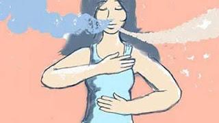 respiración abdominal, ansiedad, relajación, estrés