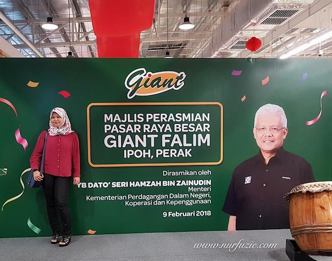 Hypermarket Giant Falim Ipoh Memperkenalkan Citarasa Malaysia dan Amaxmall.Com