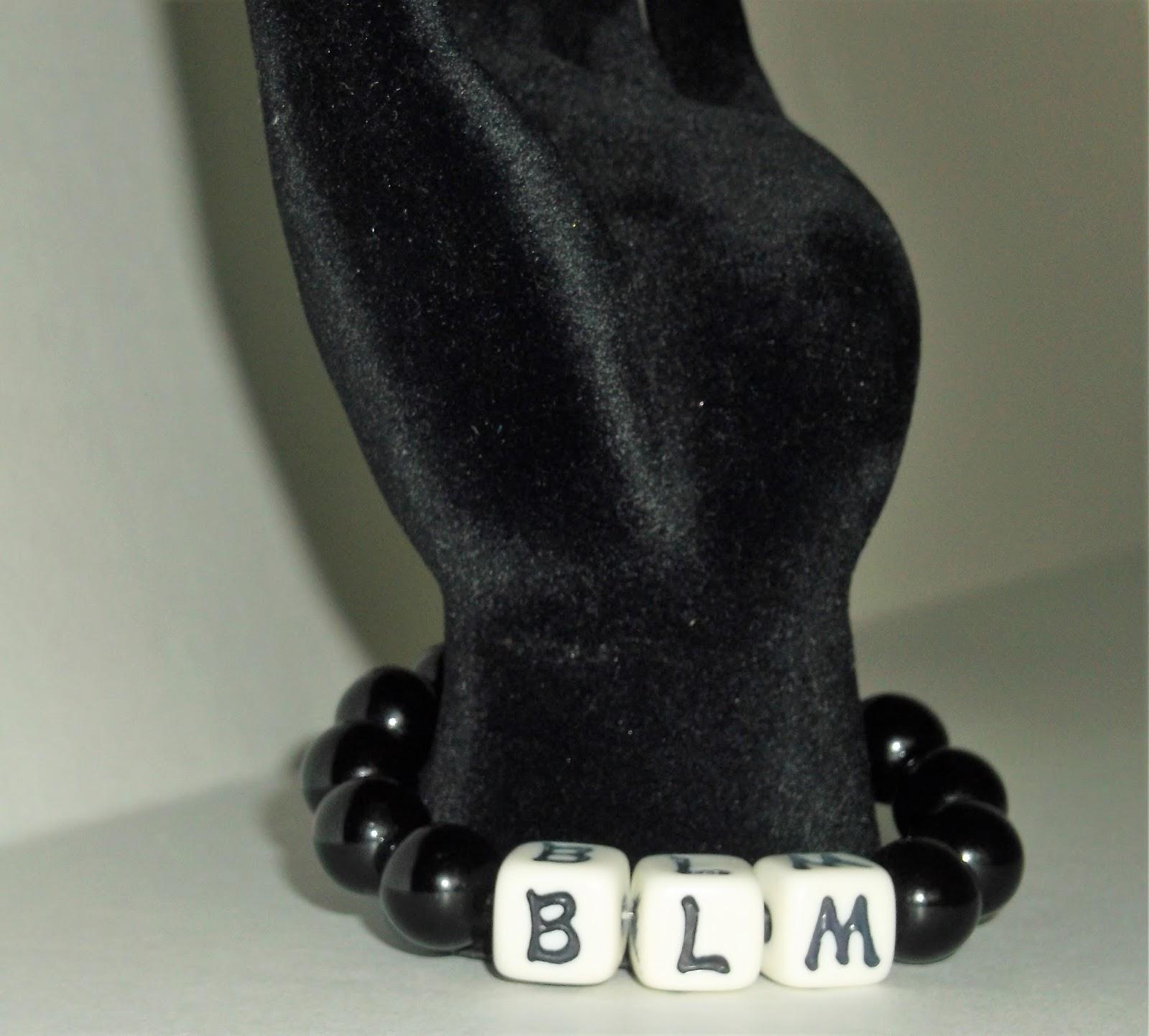 New! BLM: Black Live Matter Handmade Bracelet