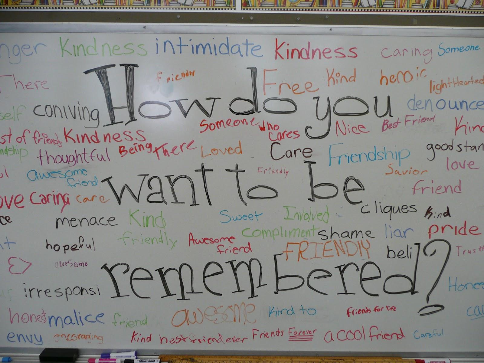 Yourkids Teacher Erasing Meanness
