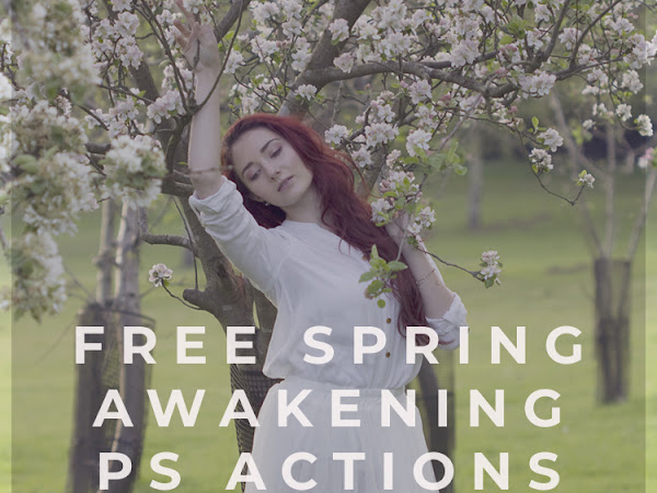Freebie Photoshop Actions Spring Awakening