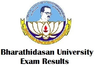 Bharathidasan University Instant Exam Results 2018