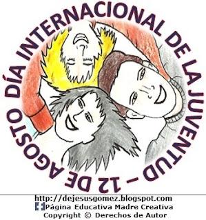 Imagen del Día Internacional de la Juventud a colores