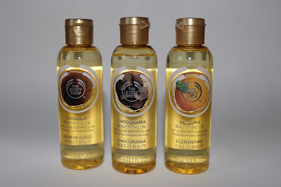 The Body Shop Beautifying Oils review