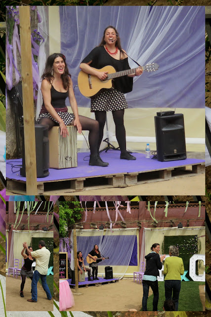 Music at the Flors i Violes Festival in Palafrugell in Costa Brava, Spain