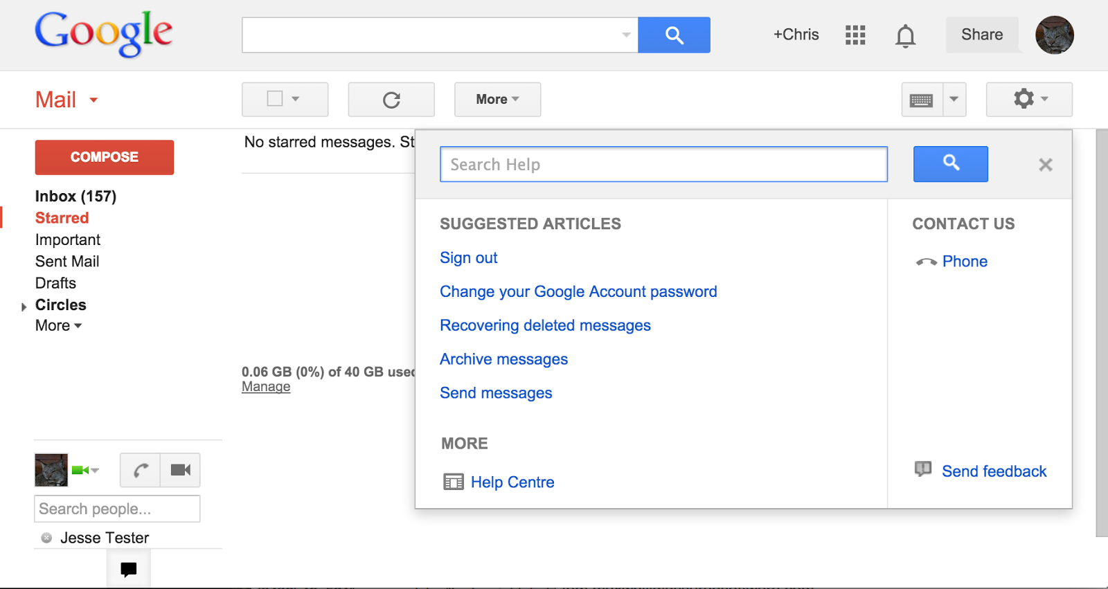resources google gmail