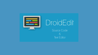 Aplikasi Editor Android DroidEdit Cocok Untuk Blogger Ponsel