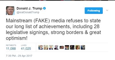 United States President Trump snubs White House corespondents dinner