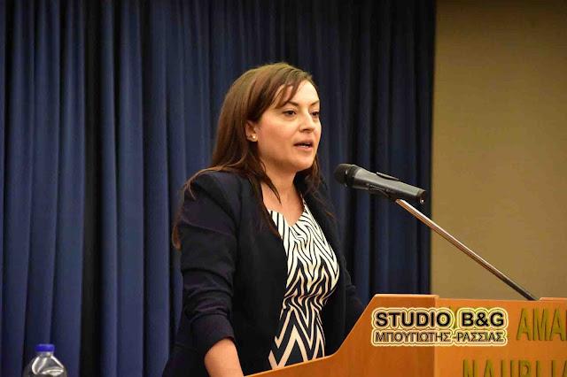 Δεν υπέβαλε υποψηφιότητα η Ελένη Αποστολοπούλου για την προεδρία της ΝΟΔΕ Αργολίδας