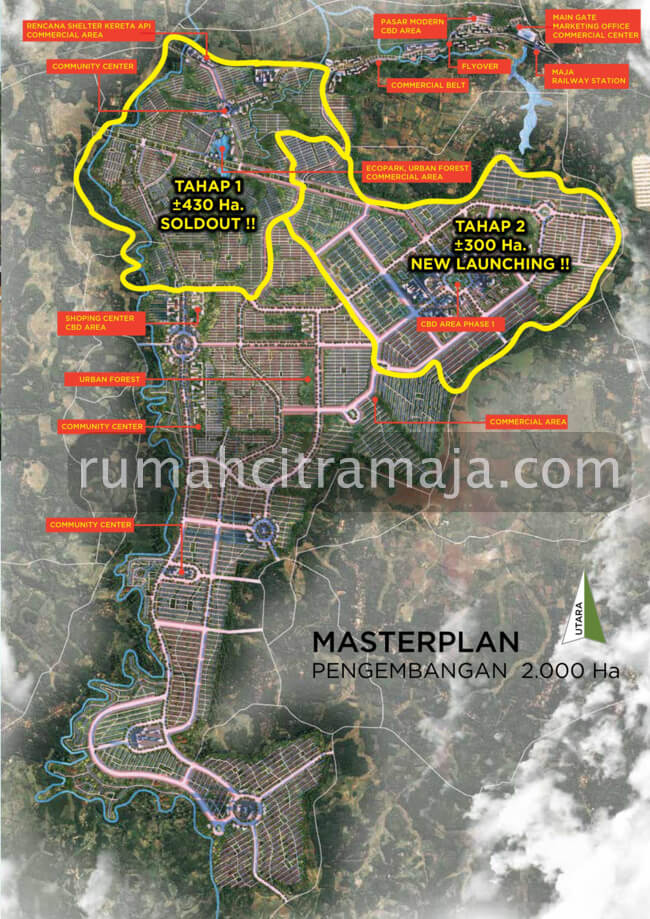 Master Plan Tahap 2 Citra Maja Raya