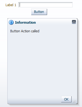 Invoke button action