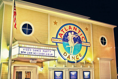 Exterior do bar/balada Atlantic Dance Hall na Disney em Orlando