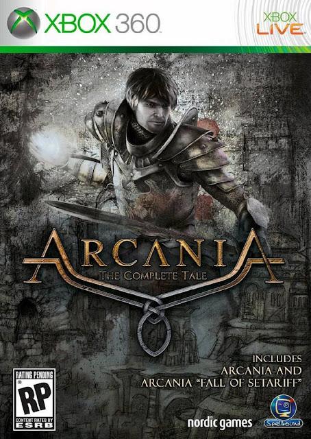 Arcania The Complete Tale - Xbox 360 - Portada