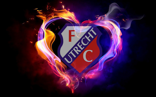 FC Utrecht achtergrond met logo