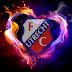FC Utrecht wallpaper met vuur