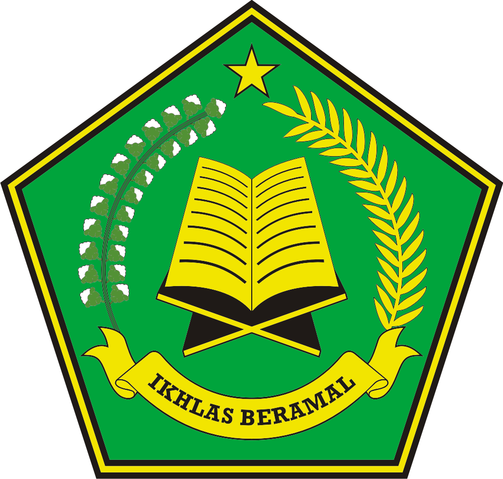 Logo Departemen Agama Indonesia (Ikhlas Beramal)