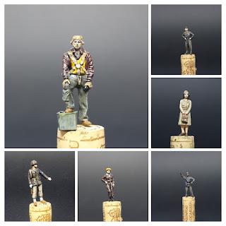 Figurine de l'USAF WWII Preiser au 1/48.