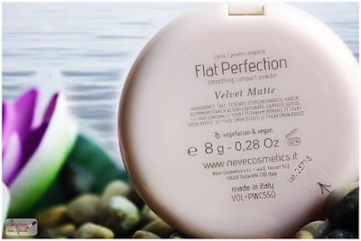 MATTE VELVET , smoothing compact powder NEVE COSMETICS