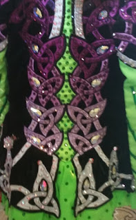 irish dance dress close up 4