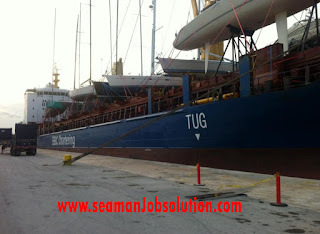Job AB For Container Ship