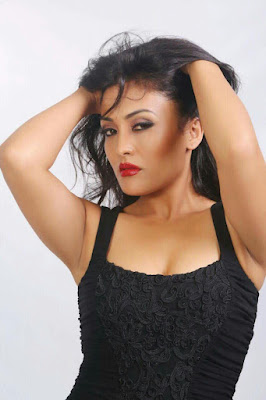 Sexy Hot Janwi Bohara Nepali Actress Model