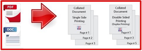Collating two pdf files