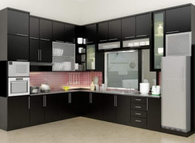 Kitchen Set Minimalis Modern & Murah Untuk Dapur Mungil