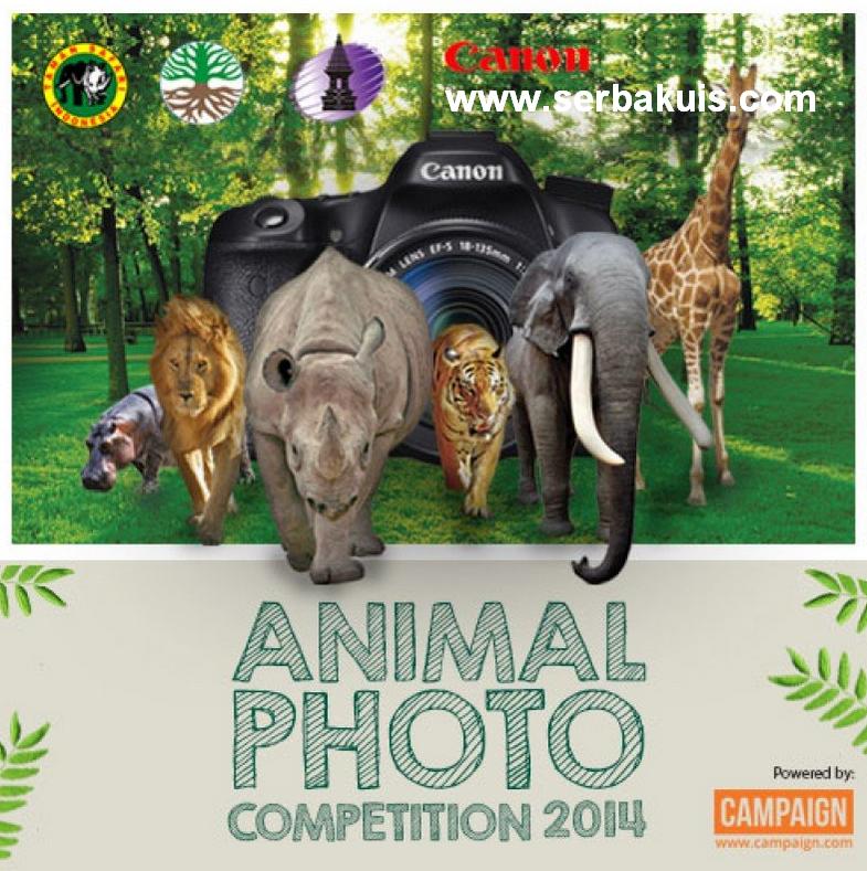 Animal Photo Competition 2014 Hadiah Uang, DSLR, Printer, Piala & Voucher
