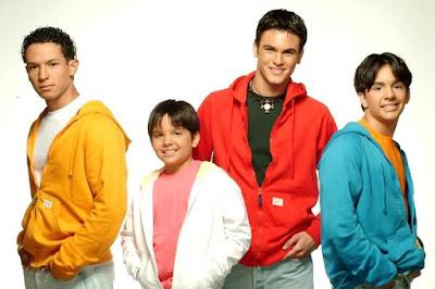 Foto de Angel Laez con sus amigos de Salserín