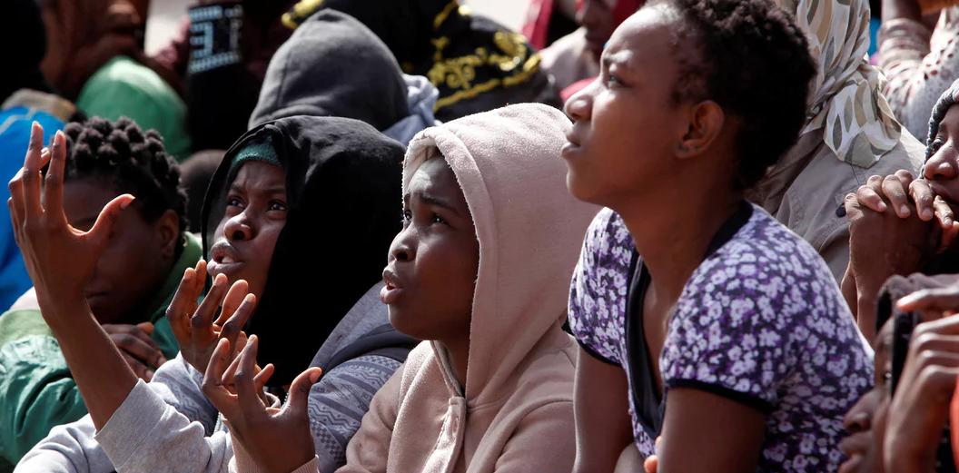 nigerians held sex slave camps libya