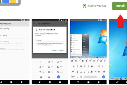 Cara Mengakses Komputer Desktop Dari Android