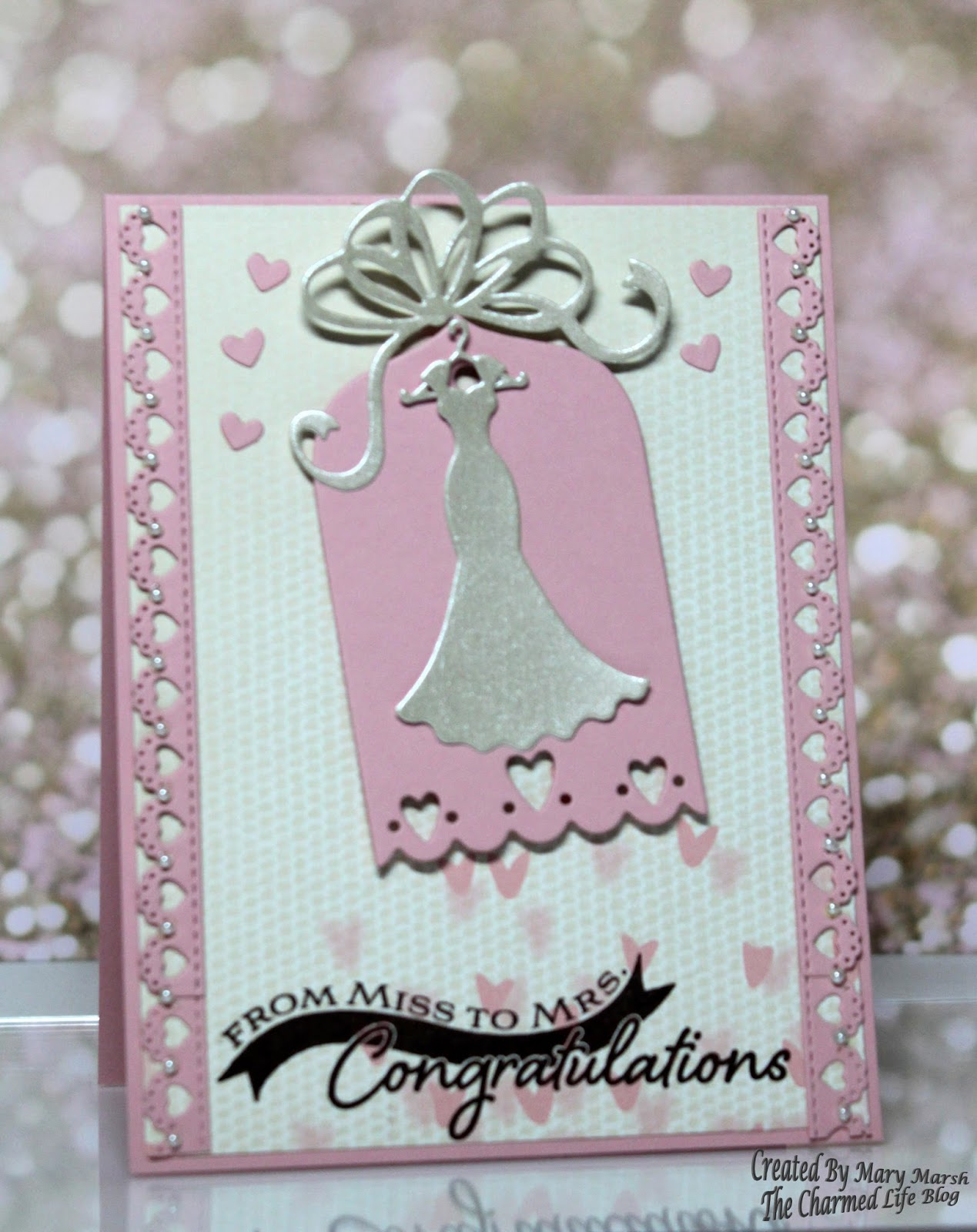 Cottageblog miss to mrs bridal shower card miss to mrs bridal shower card kristyandbryce Image collections