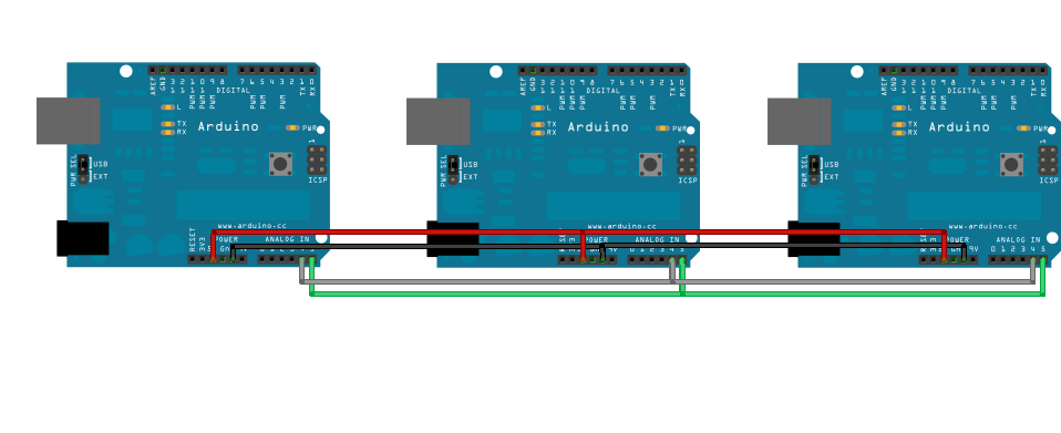Marco ramilli s communication between multiple arduino