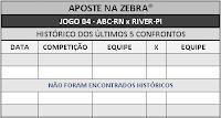 LOTECA 708 - HISTÓRICO JOGO 04